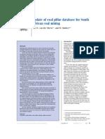 Van Der MERWE_Update of Coal Pillar Database for South African Coal Mining