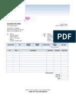 jluns invoice