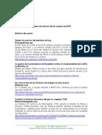 Boletín de Noticias KLR 28OCT2015