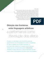 Feix - Diluicao Das Fronteiras Entre Linguagens Artisticas