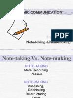 NOTEMAKING NOTETAKING