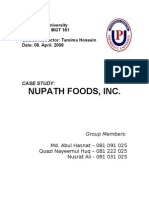 Case Study Report