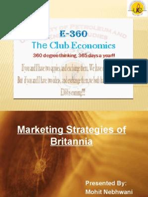 business plan of britannia