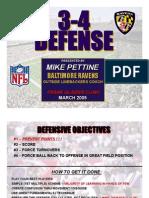 Baltimore 3-4 Defense