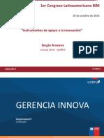 Instrumentos de Apoyo a La Innovacion Sergio Aravena CORFO