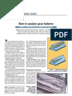 How to Analyzie Gear Failures