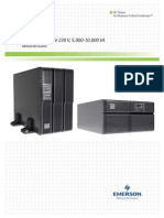 Emerson Liebert GXT3 UPS (230V) 5000VA-10000VA User Manual(Spanish)