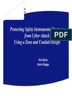 Protecting Safety Instrumented Systems-Byres