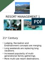 Resort Management 1