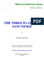 3 Ds of the Sanctified