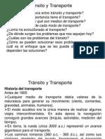 Introducción al Tránsito y Transporte