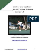 10 résolutions pour bien jouer au tennis