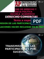 Transmision de Las Particpaciones Por Sucesion