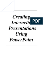 Inter Activity With Power Point XP