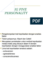 The Big Five Personality