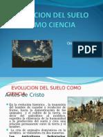 Evolucion Del Suelo Como Ciencia SEMANA 1