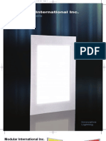 Energy-Saving Architectural LED Panels for Commercial and Hospitality Installations