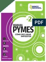 Manual Pyme2 Declarar Impuestos El Financiero