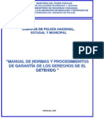 Baquia Nª 21 Manual de Garantia Del Detenido