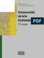 Conservacion de Arte Contemporaneo 15