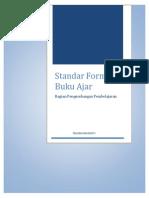 Standar Format Buku Ajar