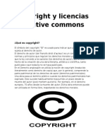 Copyright y Licencias Creative Commons