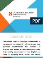 Cambridge English Examinations