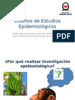 Diseños de Estudios edemiologicos