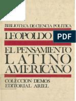 Zea Leopoldo - El Pensamiento Latinoamericano