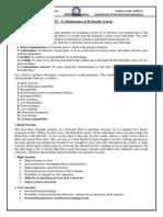 7th sem mechanical hydraulic Unit5 Notes