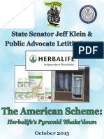 The American Scheme- Herbalife's Pyramid 'Shake'Down