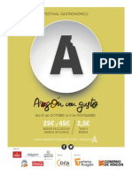 Aragon Con Gusto 2015