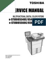 Toshiba FC-6550C Service Manual