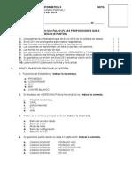 Examen Primer Parcial NCPP I