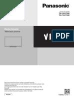 Mode d'emploi télévision Panasonic VT30