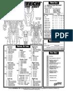 Battletech Record Sheets 2750