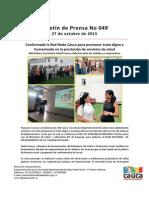 Boletín 049_ Conformada La Red Nodo Cauca Para Promover Trato Digno y Humanizado en La Prestación de Servicios de Salud