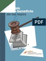 Manual Análisis Costo Beneficio de Las Leyes