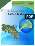 Descripción Del Clima Cantón de Limón