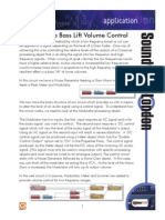 Creating a Bass Lift Volume Control Original