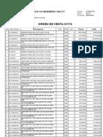 o.v. 61774 Consorcio Menegua