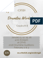 Drumline Workshop A