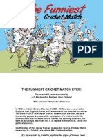 The Funniest Cricket Match Ever 2014