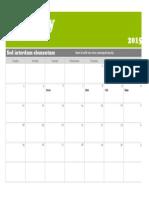 January (my calendar)
