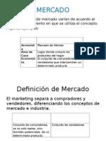 Marketing Mercado