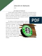 Proceso de selección en Starbucks
