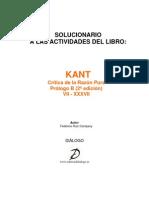 Solucionario Kant 2009