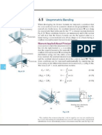 1. Flexión Asimetrica Teoria