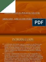 Clase Diapositivas de Derecho Penal Militar Policial