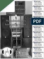 afiche sonido